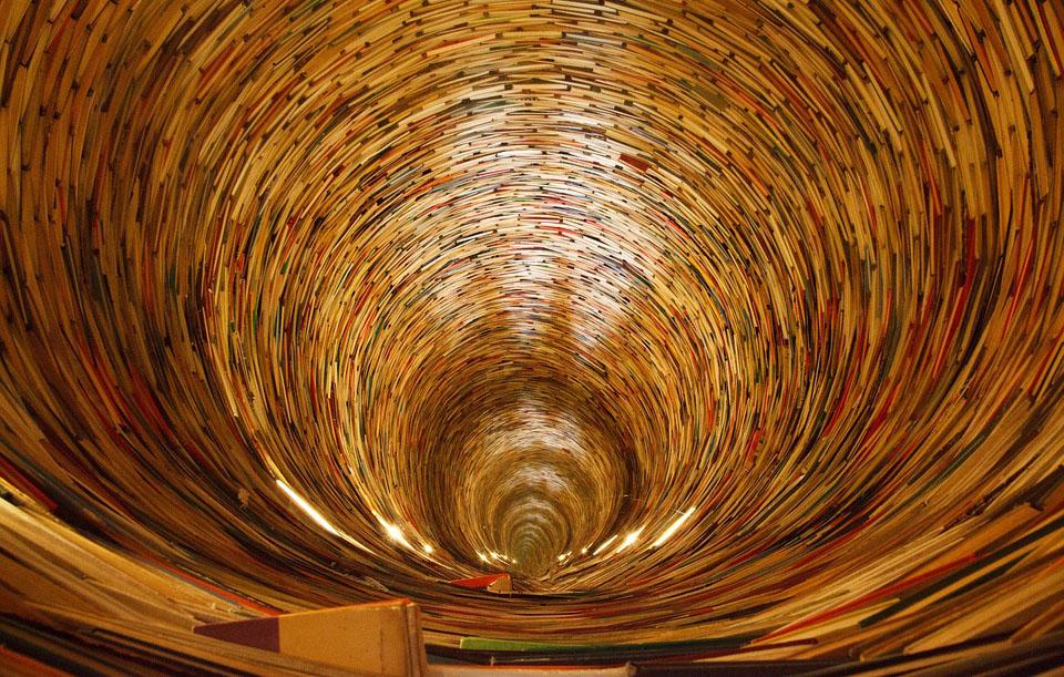 Un remolí de llibres