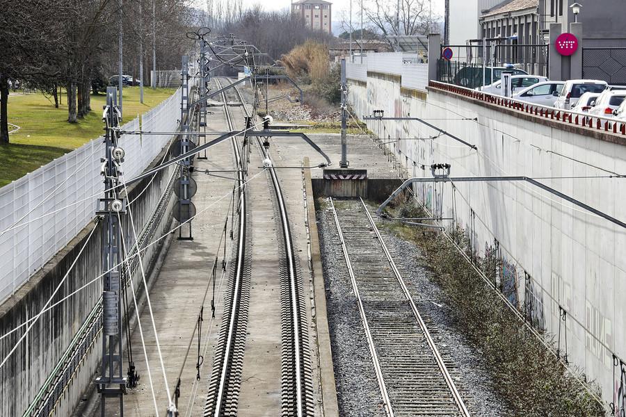 S'allargarà el topall que hi ha l'estació de Vic en direcció a Barcelona